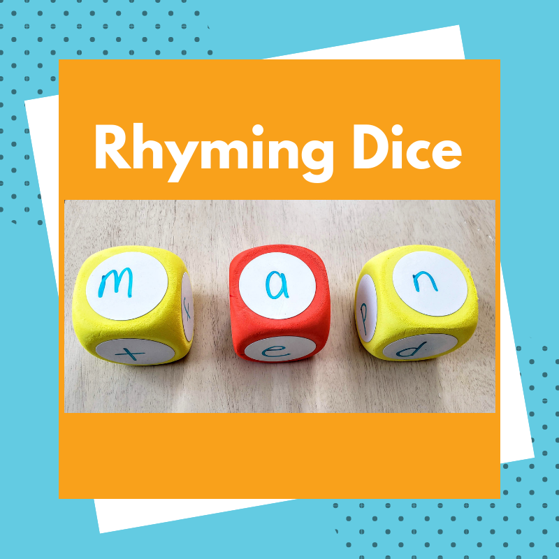 Rhyming Dice