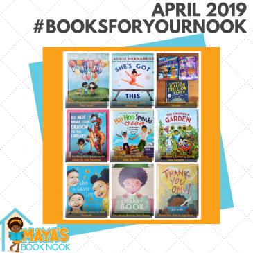 April 2019 #BooksForYourNook Roundup