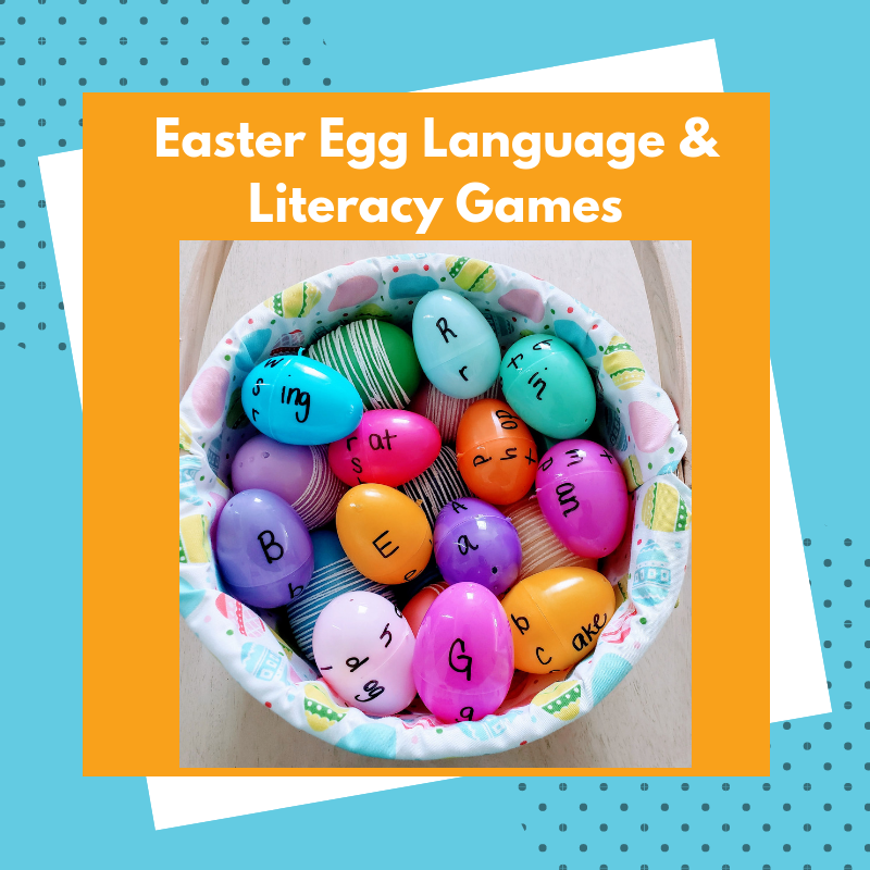 Easter Egg Language & Literacy Games